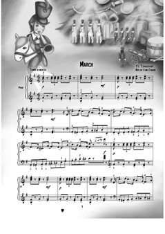 March, The Nutcracker (Play Playfully) for piano